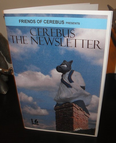 Cerebus the Newsletter #16 2nd printing