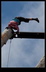 Het nuttige en het aangename combineren (Arie van Tilborg) Tags: toronto canada vancouver niagarafalls bc columbia victoria niagara vancouverisland british butchartgardens capilano suspensionbridge siggraph fairmont grousemountain vancouverconventioncenter arievantilborg