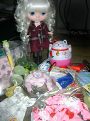 Lindos os presentes que a Katarina ganhou!!