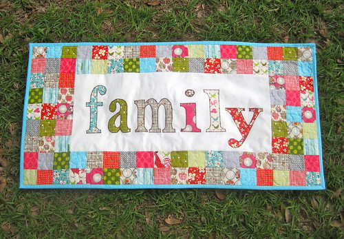 Family Matters Table Runner Tutorial