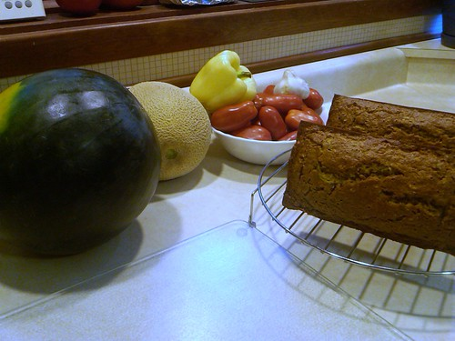 Zucchini Banana Bread by Just Nora