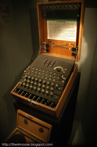 Imperial War Museum - Enigma Machine