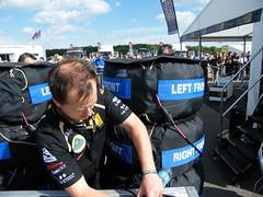 LotusGP Tyre Warmers (Steve Roe) Tags: silverstone tyre warmer lotusgp