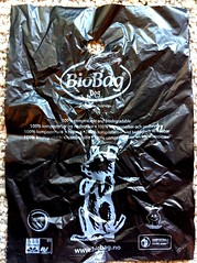 biobag dog waste bag