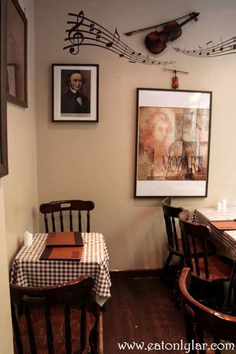 Interior, Café Minuet