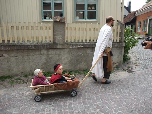 Farbror Fredrik drar lasset