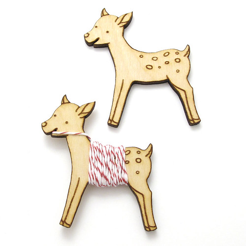 Flossy the Fawn Embroidery Floss Bobbin 7