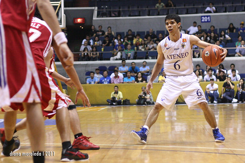 UAAP Season 74: Ateneo Blue Eagles vs. UE Red Warriors, August 25, 2011