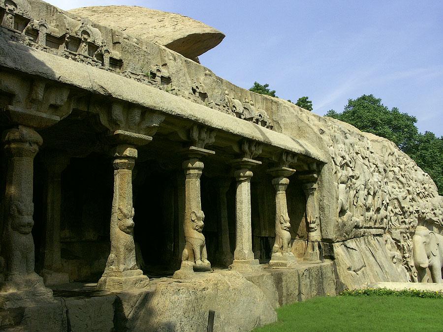 Мамаллапурам (Махабалипурам), Индия © Kartzon Dream - авторские путешествия, авторские туры в Индию, тревел видео, фототуры