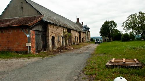 France, old farm