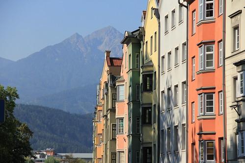 Innsbruck's houses