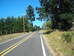 Winding up Mason Hill Road