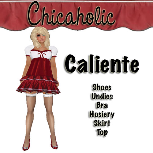 Chicaholic Caliente Dress  by Shabby Chics
