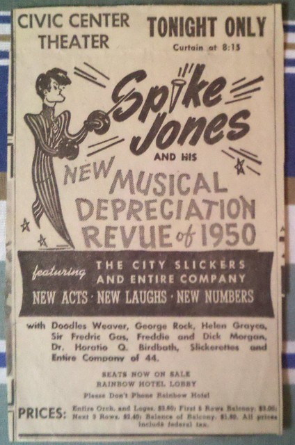 Spike Jones in Great Falls!
