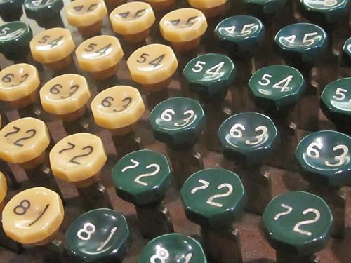 Vintage Typing Keys