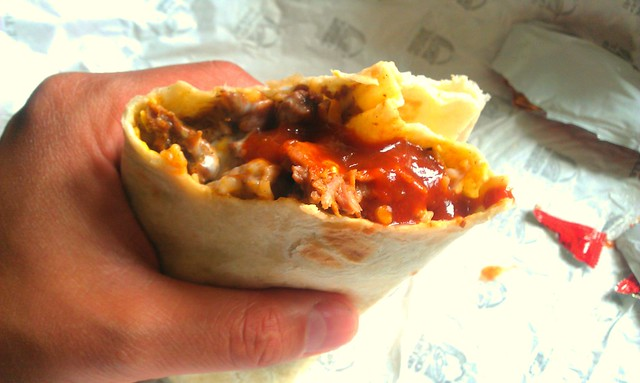 XXL Grilled Steak Burrito