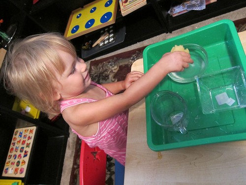 Transferring Water Activity (Photo from Barefoot in Suburbia)