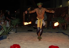 BowWowSunnyFiredancing (AdoptAnAngelRescue) Tags: wow luau bow 2011