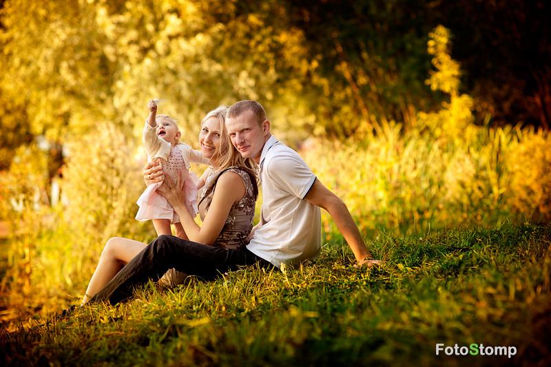 Фотосессия семьи. Фотограф Ирина Марьенко. Fotostomp.ru