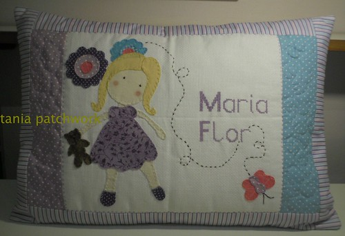 Travesseiro  Almofada Bebê  by tania patchwork