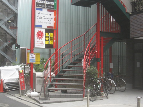 階段@ボンクラージュ(練馬)