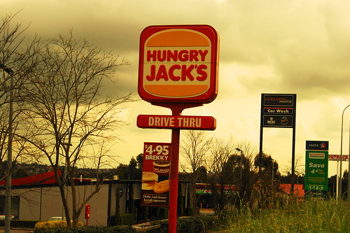 The burgers are better at Hungry Jack's by jicachu, on Flickr
