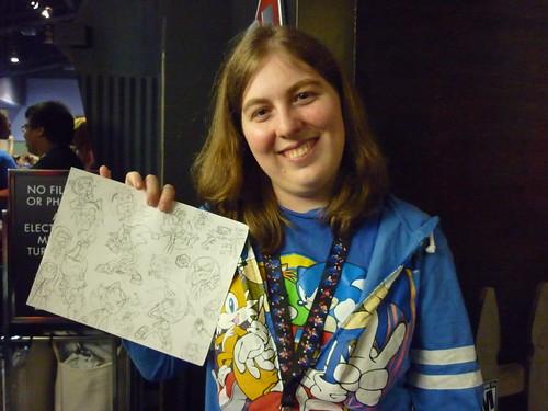 Sonic fan & fan art
