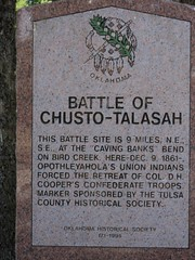 Exploring Oklahoma History: Battle of Chusto-Talasah