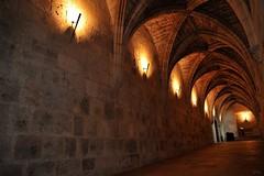 Descente à l'église basse de la Cathédrale de Bourges (Philippe_28) Tags: france saint bourges cathedral cathédrale cher 18 etienne gothique