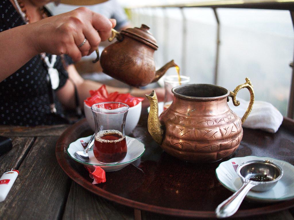 Tea in Gülhane Park