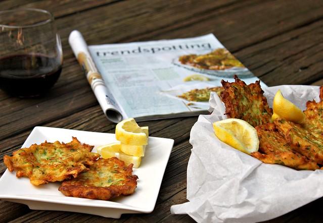 Mario Batali's Zucchini-Ricotta Fritters