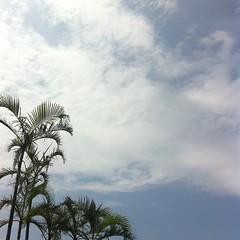 南の島の空。#okinawa