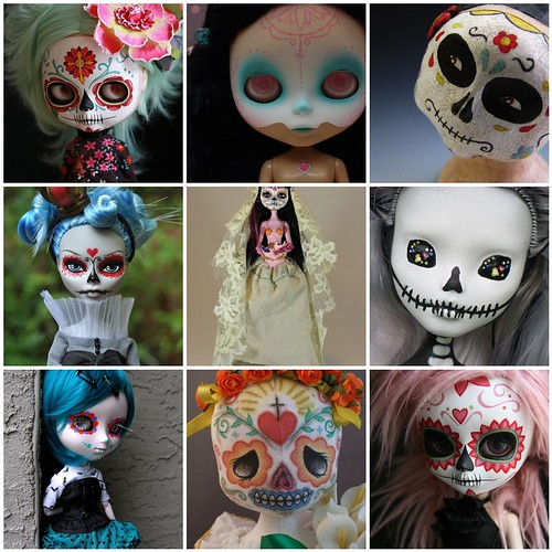 Friday inspiration: Day of the Dead dolls
