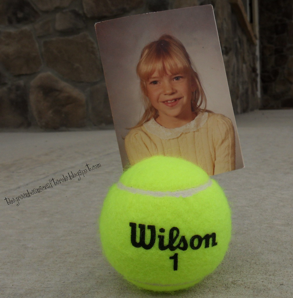 "tennis ball picture ""frame"""