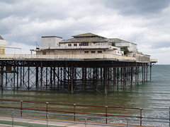 Victoria Pier at Colwyn Bay
