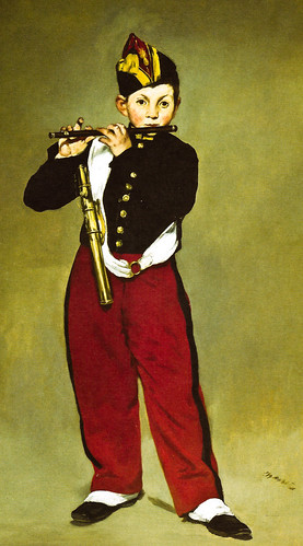 Edouard Manet - The Fife Player, 1866 at Musée d'Orsay Paris France
