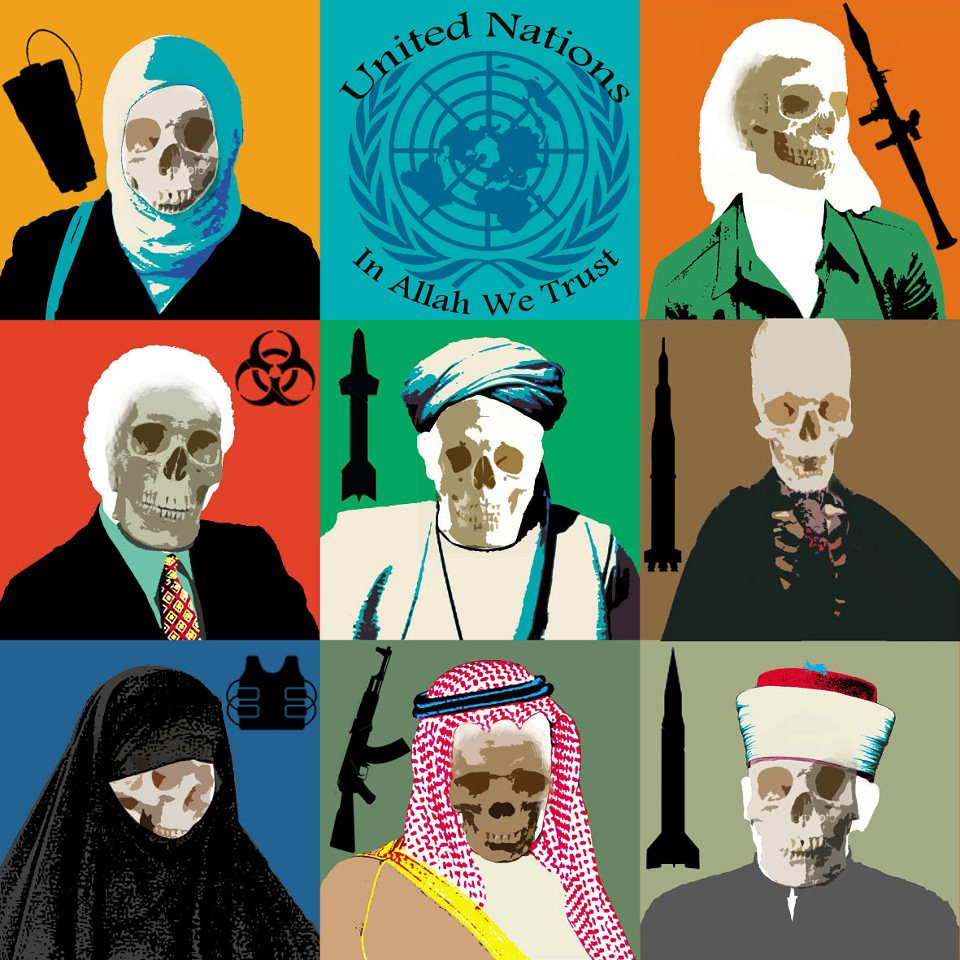 United Nations - united for socialism and radical Islam