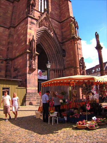 Market Strasbourg by Danalynn  C