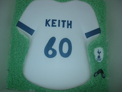 tottenham hotspur birthday 60th cake (Sprinkled With Love cupcakes by lizzie sprinkledwi) Tags: birthday wedding cakes cake yahoo google masks lizzies flikr bing 60th harlequin tottenham hotspur birrthday lizziescakes