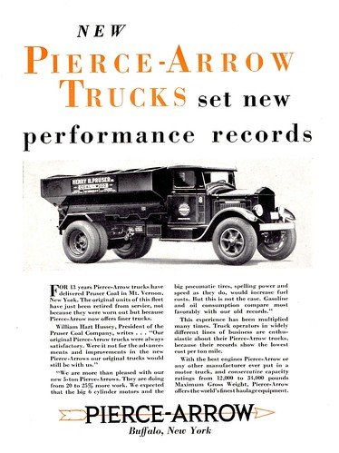 1931 Pierce Arrow coal car