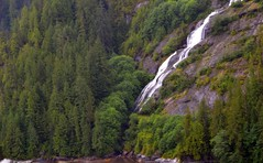 Misty Fjords Waterfall - Alaska (blmiers2) Tags: travel mountain mountains nature alaska waterfall nikon waterfalls mistyfjords d3100 blm18 blmiers2
