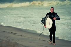 Wave Fighter (FarCorner) Tags: sunset white man black guy beach ma nikon surf waves surfer board surfing suit shore string cape nikkor cod vr attach d300 18200mm liamsatnauset