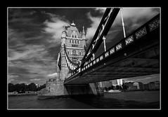 Tower Bridge Mono (Lee Galashan) Tags: bridge england bw london tower thames canon mono dc sigma 40d 1020ex