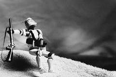 248/365 Alternative | Death of a Clone Trooper (egerbver) Tags: white black robert toy toys star action capa days replica photographs same similar clones figure parody recreation wars 365 copy remake alternative magnum reconstruction parodies redo reconstruct recreate influencial davideger