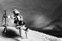 248/365 Alternative | Death of a Clone Trooper (egerbver) Tags: white black robert toy toys star action capa days replica photographs same similar clones figure parody recreation wars 365 copy remake alternative magnum reconstruction parodies redo reconstruct recreate influencial davideger