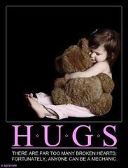 hugs (agdaniele) Tags: children heart teddybear hugs comfort embrace healing mechanic empathy brokenheart heal motivational sincerity agdaniele