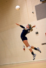Jump Serve! (fj40troutbum) Tags: canon volleyball rosepetal youthsports 85mm18 actionphotos colonialforge gregholland