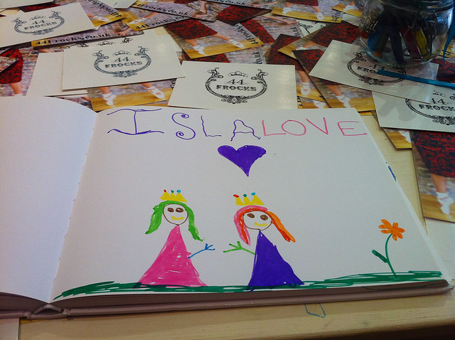 Isla Love by 7-year old Isla