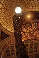 Baldaquin and Dome (Non Paratus) Tags: film washingtondc slide transparency scanned canonae1 churchoftheholysepulchre baldacchino 1899 baldaquin franciscanmonastery baldachin aristideleonori mountstsepulchre