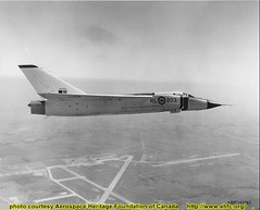 91065 Avro Arrow RL-203 over Malton Airport (Sudbury2Malton) Tags: lancaster boeing douglas malton avro mcdonnelldouglas avroarrow cf100 victoryaircraft avroe nationalsteelcar maltonontario ahfc